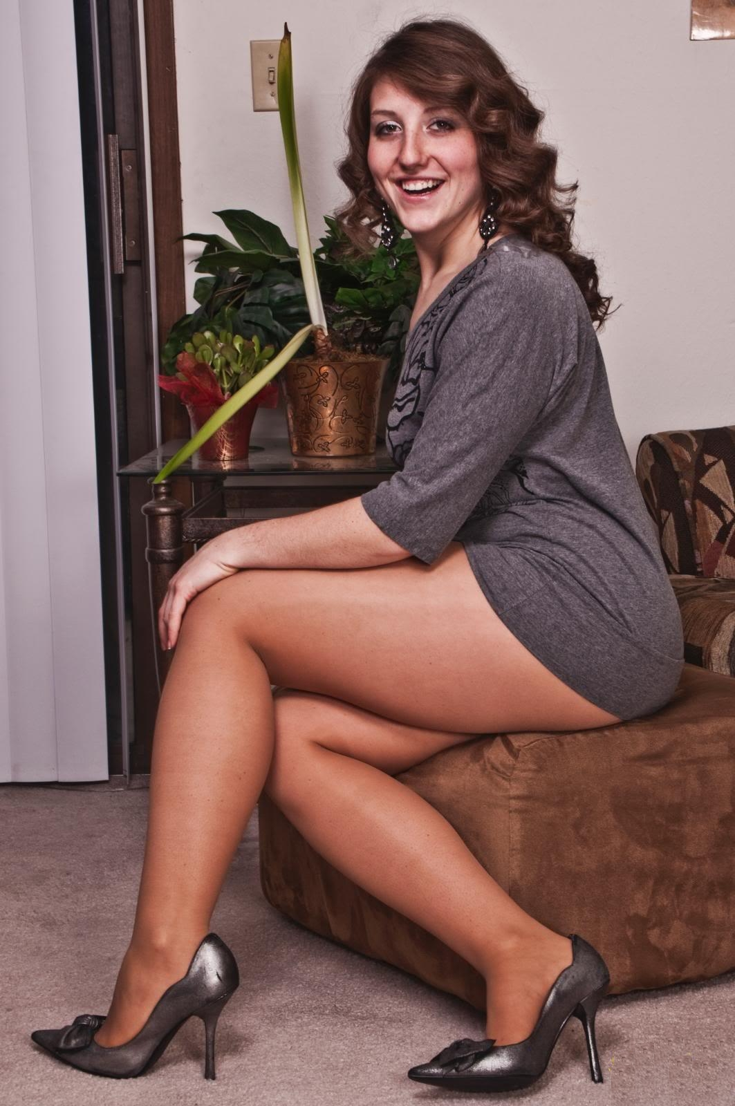 Fuck girl chubby legs in nylons college