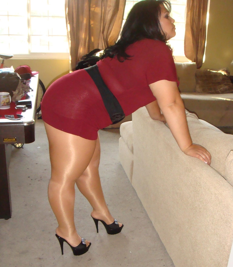Pantyhose chubby girls