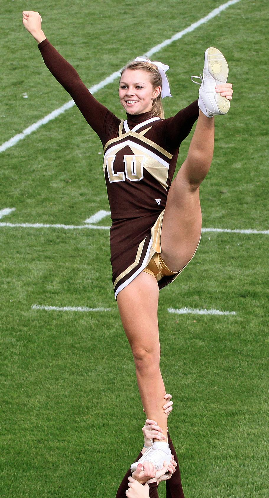 Cheerleader upskirt panty pics think, that