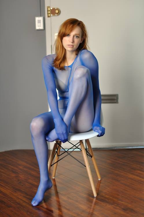blue pantyhose blue tights blue nylons