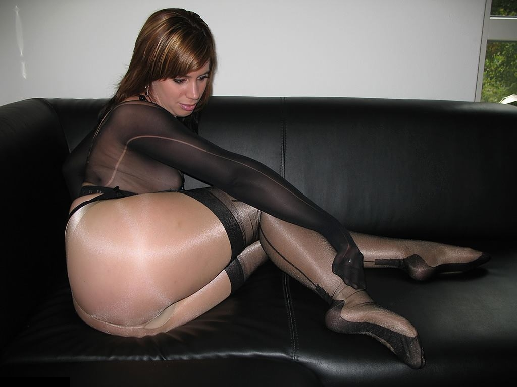 Named pantyhose girl