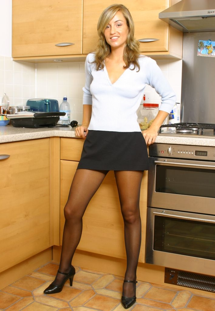 Skirts and pantyhose shiny opaque