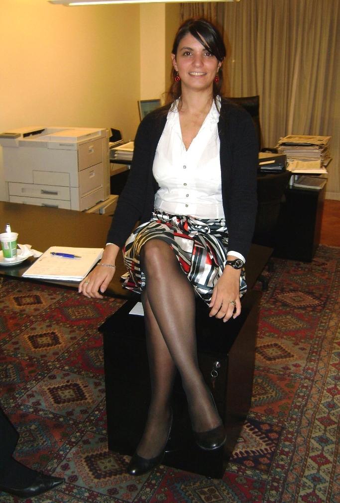Secretary Pantyhose 112
